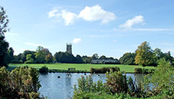 Abbey Grounds in Cirencester