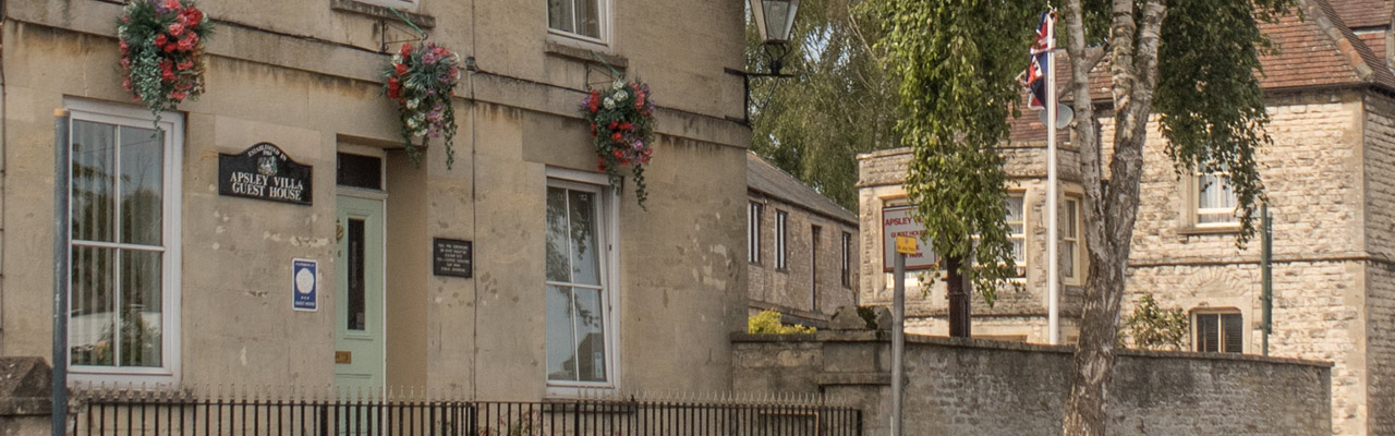 Apsley Villa Guest House in Cirencester